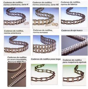 Cadena y uniones. COELTRA - Transmisiones y Suministros Industriales