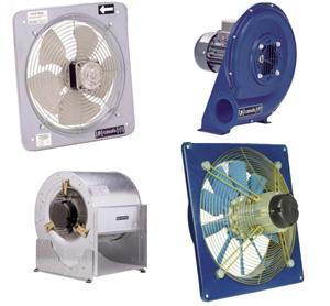 Ventilación industrial. COELTRA - Transmisiones y Suministros Industriales