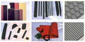 Planchas y perfiles de goma, silicona y esponja. COELTRA - Transmisiones y Suministros Industriales